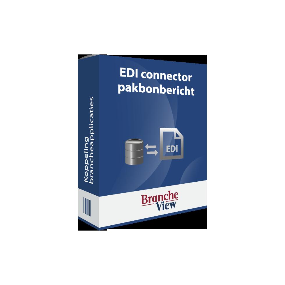EDI connector pakbonbericht
