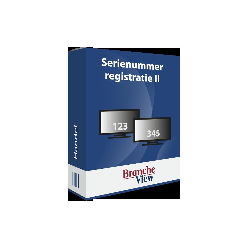 Serienummerregistratie II