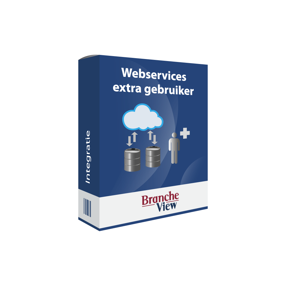 Webservices extra gebruiker