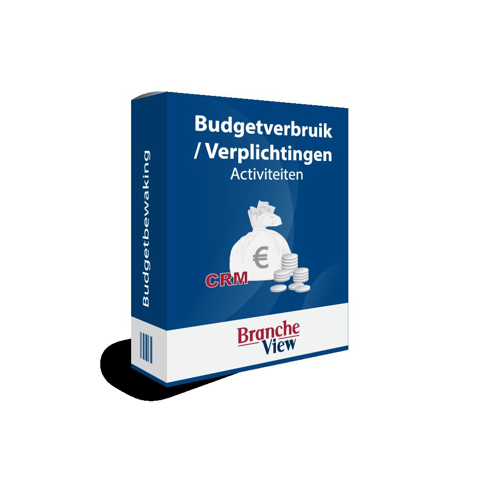 Budgetverbruik / Verplichtingen – Activiteiten