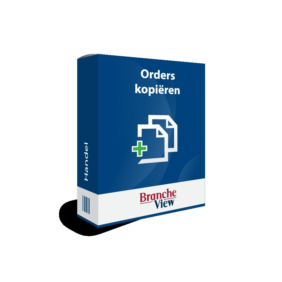 Orders kopiëren